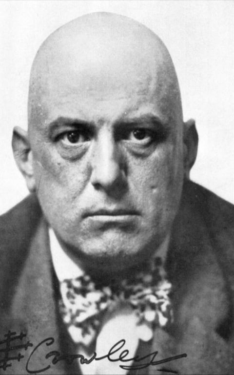 O ocultista Aleister Crowley