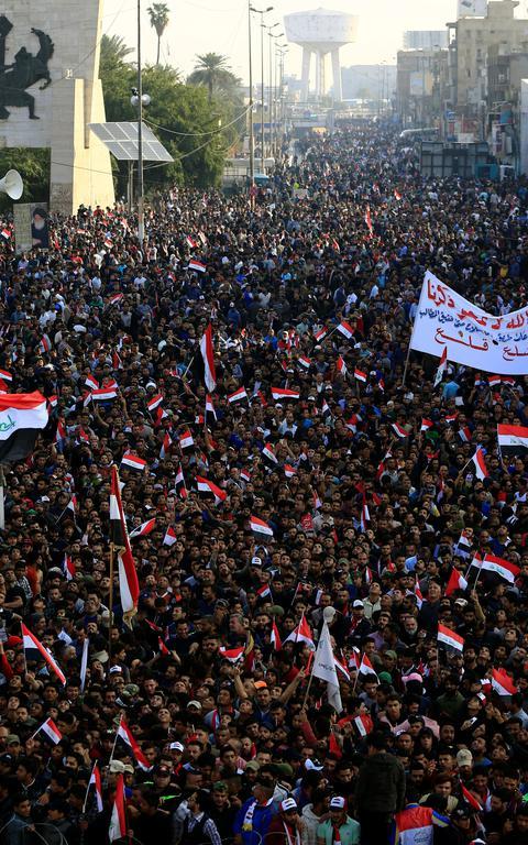 Iraque_manifestação