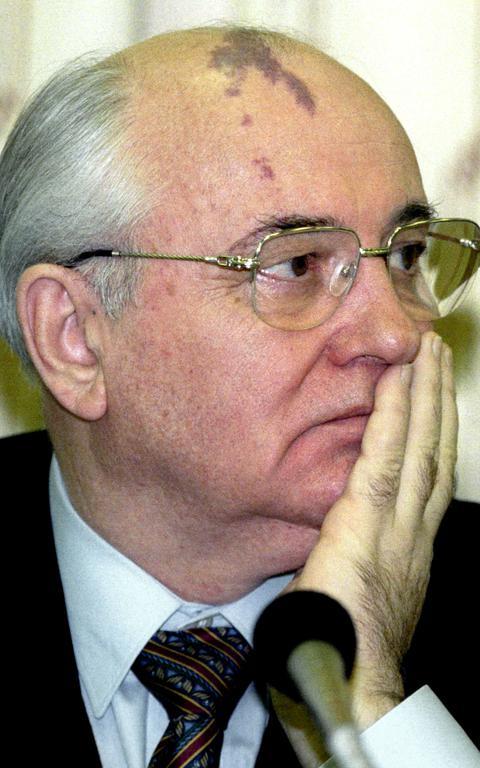 Mikhail Gorbachev em evento sobre o fim da URSS, em Moscou